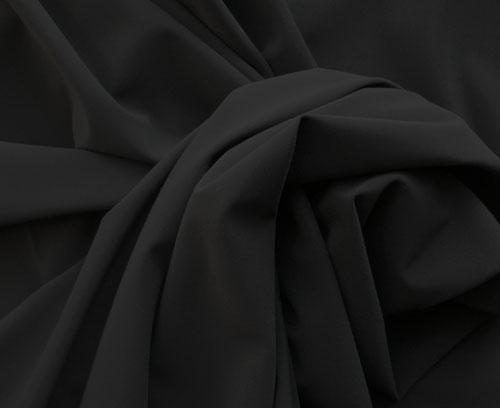 Mikrofaser schwarz Badeware