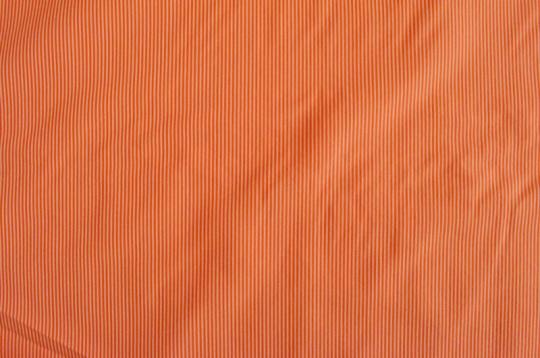 Webwaren Badestoff unelastisch orange Streifen