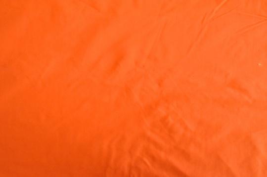 Webwaren Badestoff unelastisch Farbrichtung rötlich orange