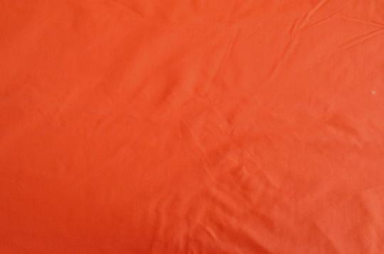 Webwaren Badestoff unelastisch orange dunkel