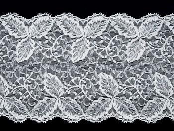 Spitzenband weiß 17,5cm Meterware