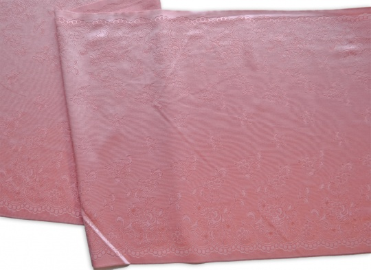 Spitzenband rosa flamingo 30cm