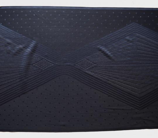 Spitzenband blau dunkel 44cm