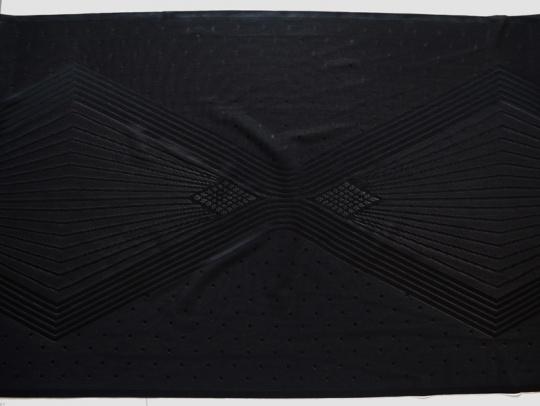 Spitzenband schwarz 44cm