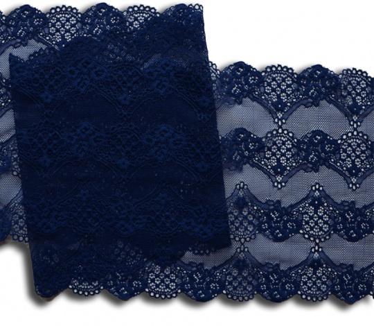 Spitzenband blau 22cm