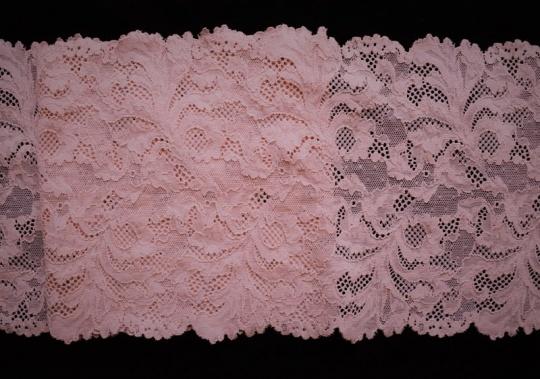 "Spitzenband rosa ""Powder"" 19cm"