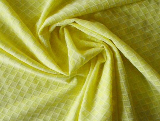 Alloverspitze elastisch  gelb lemon Karo
