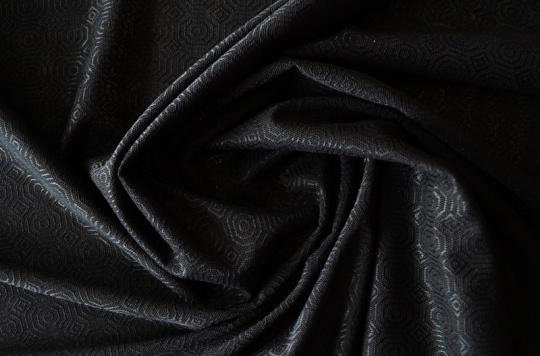 Alloverspitze elastisch  schwarz