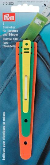 Einzieher für Elastics und Bänder