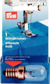 Glühbirne für Nähmaschinen 15W Schraub-Fassung