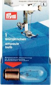 Glühbirne für Nähmaschinen 15W Bajonett-Fassung