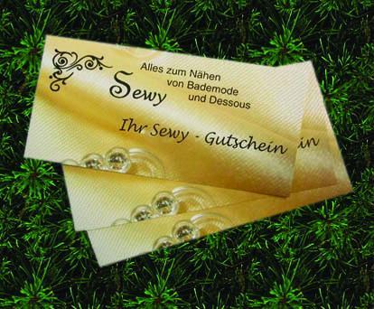 Sewy - Gutschein über 25,-€