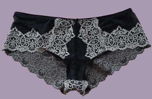 Schnitt Panty Violet